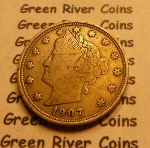 1907 Liberty Head Nickel  #QB07 better grade