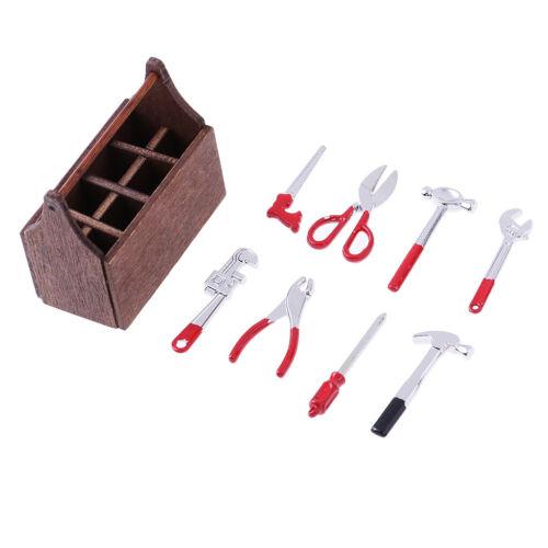 MagiDeal 1//6 Scale Toolbox mit Werkzeug Modell für 12 /'/' Figur Puppe