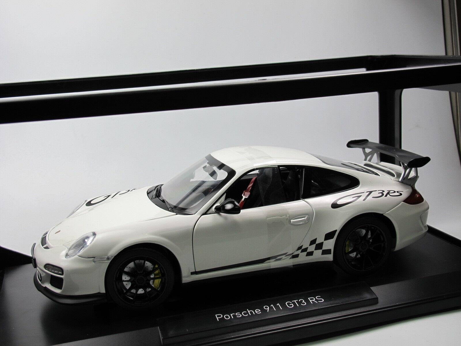 NOREV 187561-Porsche 911 gt3 rs-Année 2010-Blanc - 1 18 NEUF