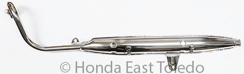 HONDA 183A0-098-673 MUFFLER EX.