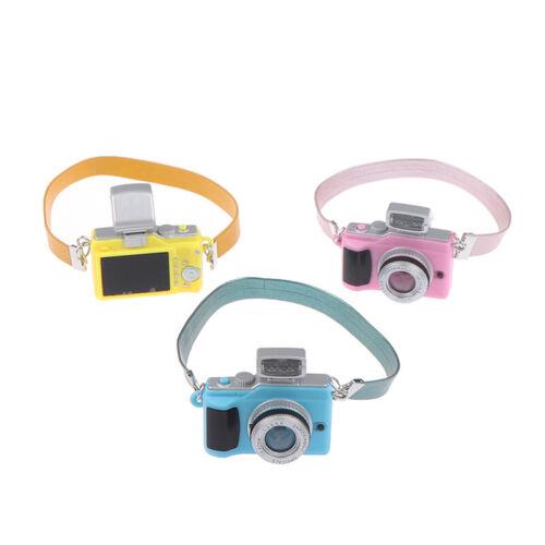 1//12 Dollhouse Miniature Mini SLR Camera Model Scene Accessories Toys Decorat CQ