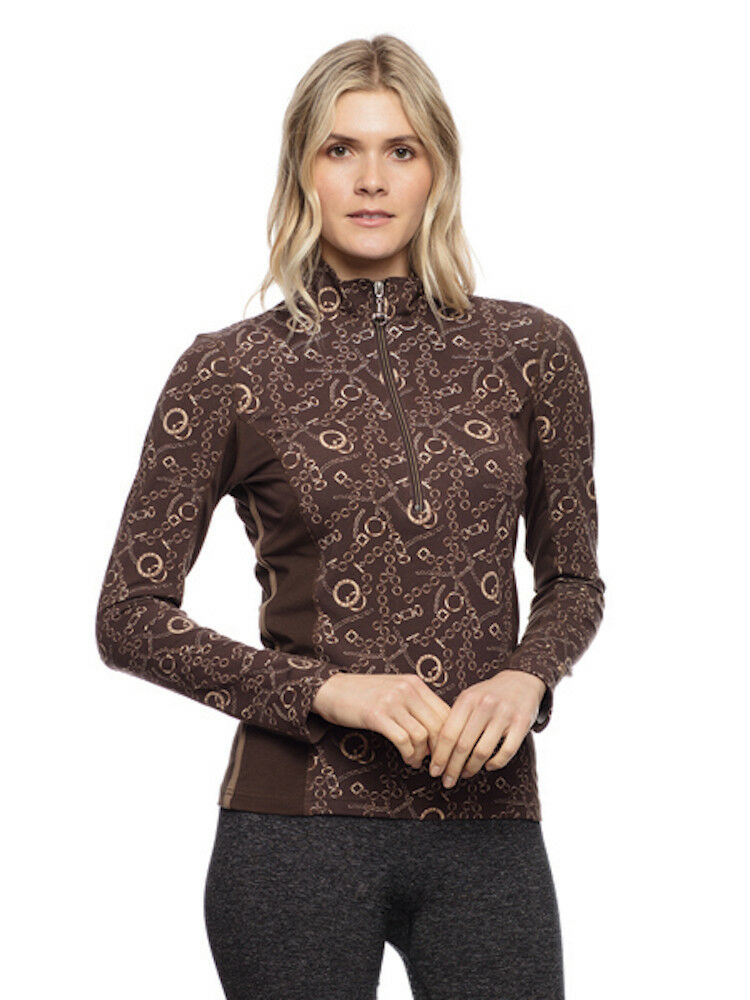 Goode Rider Long Sleeve Ideal Show Cocoa Link-S