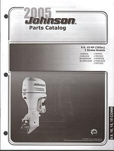 2005 Johnson Outboard Motor 9 9 15 Hp 2 Stroke Parts