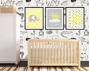Nursery Prints Baby Room Decor