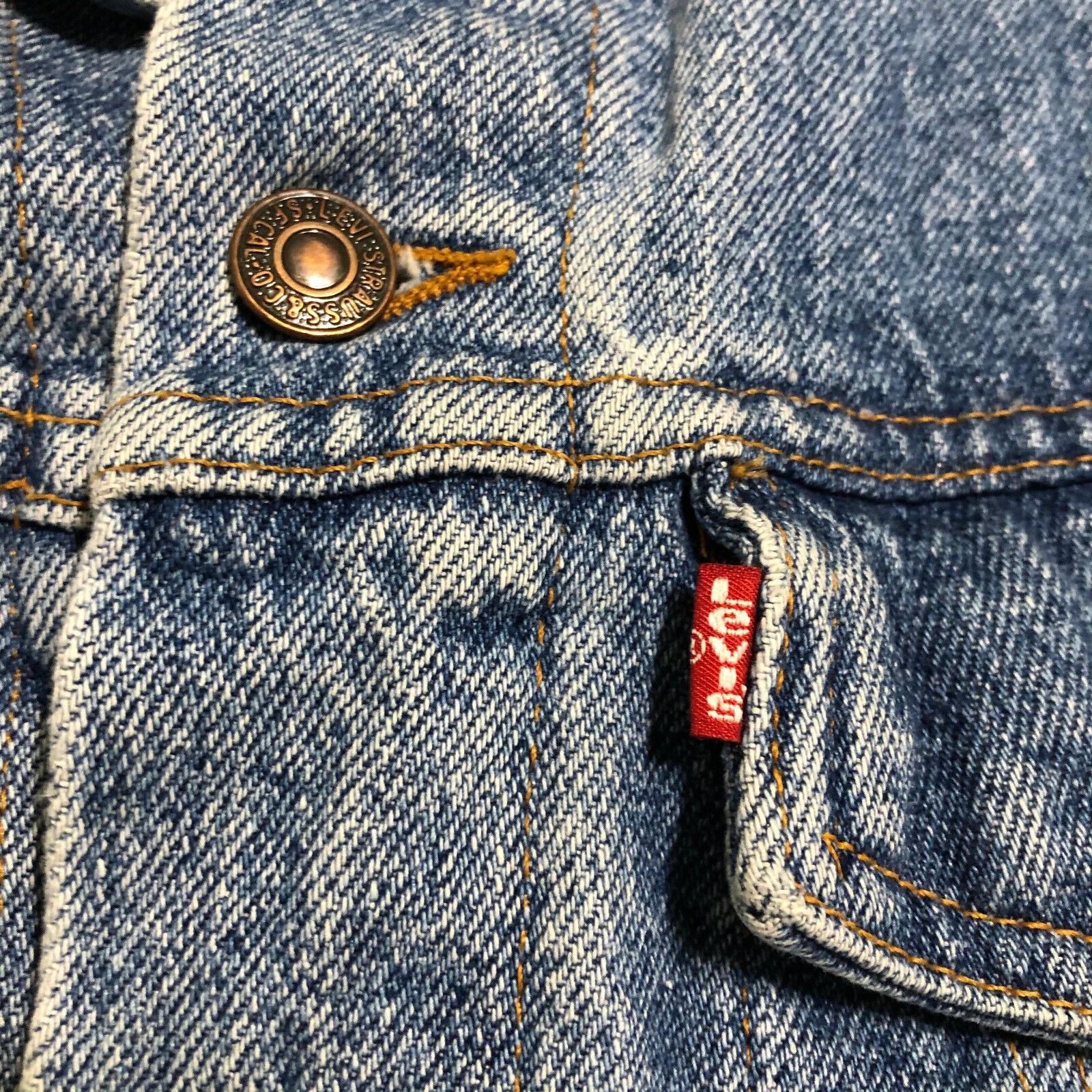 Vintage 80 90's LEVIS 70598-4891 USA Acid Washed … - image 2