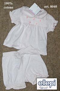 Smart Completo Clínica Corto Bebé Ellepi 8040 Agreeable To Taste Other Newborn-5t Girls Clothes