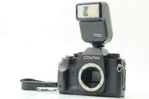 [NEAR MINT] CONTAX RX 35mm SLR Film Camera + TLA20 Flash + Strap JAPAN #1279