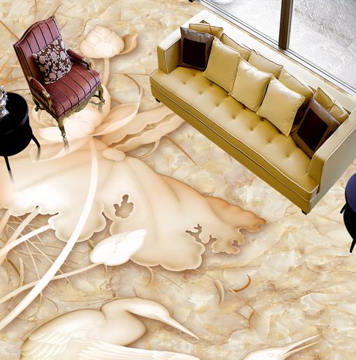 3D Muster Gold Fototapeten Wandbild Fototapete Tapete Familie DE Lemon