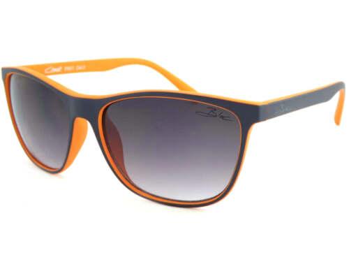 BLOC unisex COAST sunglasses Dark Blue over Orange// Grey Gradient Lens F601