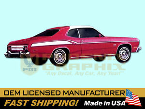 1975 Plymouth Duster 360 Decal Stripe Kit Ebay