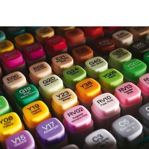 Copic Marker e34 TOAST Marker layout