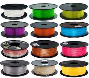 Geeetech 1.75mm 1kg filament  PLA  for 3D Printer  Black / White  / Green/ blue