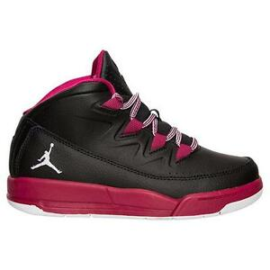 Image is loading JORDAN-AIR-DELUXE-GP-807715-009-BLACK-WHITE-