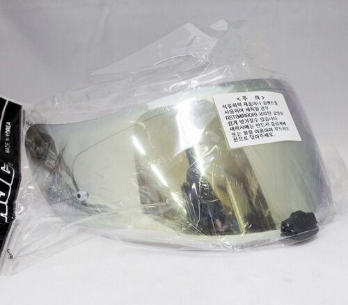 IS-17 RPHA ST HJC HJ-20M Gold RST Mirror Shield Helmet Visor For FG-17