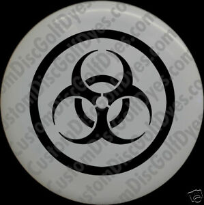 Disc-Golf-Custom-Dye-Stencil-BioHazard-2-Pack