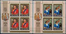 Cook Islands 1982 Royal Baby Birth MNH Sheetlets Set #A90402