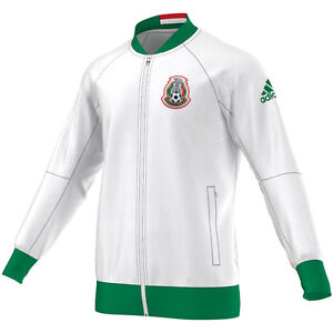 Image is loading adidas-Mexico-2017-Line-Up-Soccer-Full-Zip-