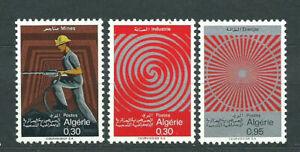 Algeria-Mail-Yvert-481-3-MNH