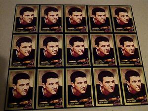 LEON-HART-1991-RARE-Heisman-card-UNCUT-SHEET-Notre-Dame-Football-NR-MT