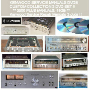 Details about Kenwood Service Manuals Schematics, Custom Compilation on