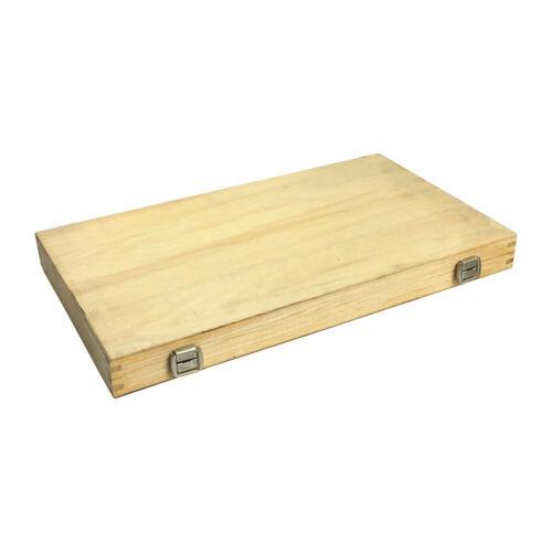 6-7/'/' Outside Micrometer Solid Metal Frame 0.0001/'/' Graduation Wooden Case