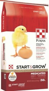 Purina Feed Pmi Chick Start /& Grow Optimum Nutrition Medicated Poultry Food 25Lb