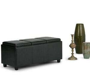 Enjoyable Details About Storage Seat Bench Black Faux Leather Flip Top Storage Ottoman Entryway Bench Gamerscity Chair Design For Home Gamerscityorg
