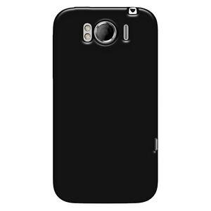 2-x-Amzer-Black-Gel-TPU-Gloss-Quality-Skin-Case-Back-Cover-For-HTC-Sensation-XL