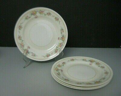 Homer Laughlin Countess Bread And Butter Plates Eggshell Georgian Set Of 4 Ebay
