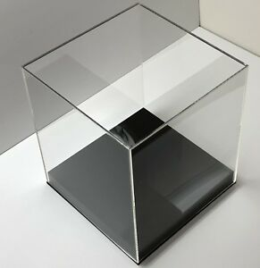 Image Is Loading Acrylic Display Box With BASE Display Case Clear