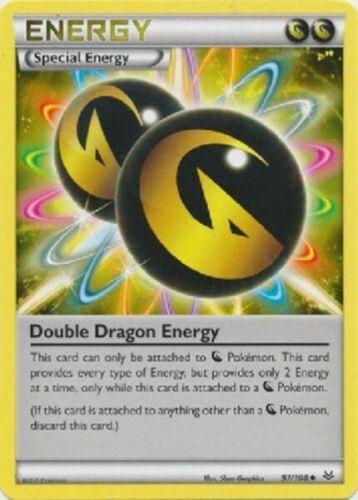Double-Dragon énergie-Dragon Feux 97//108 en UNCOMMON Presque comme neuf