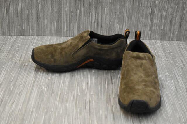 Merrell Jungle Moc J63787W Casual Shoes, Men's Size 9.5W, Gunsmoke