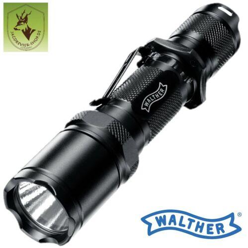 """Lampe de poche /""""Walther/"""" mod Tactical mgl1100x2 DEL; Tactical Pocket Flashlight"""