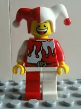 LEGO JESTER MINIFIG MINIFIGURE CASTLE KINGDOMS 7953 FREE SHIPPING