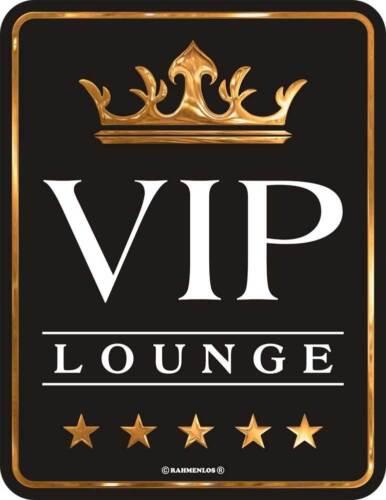 Tôlerie-Bouclier Tôle Bouclier-VIP Lounge-Taille 17x22 cm