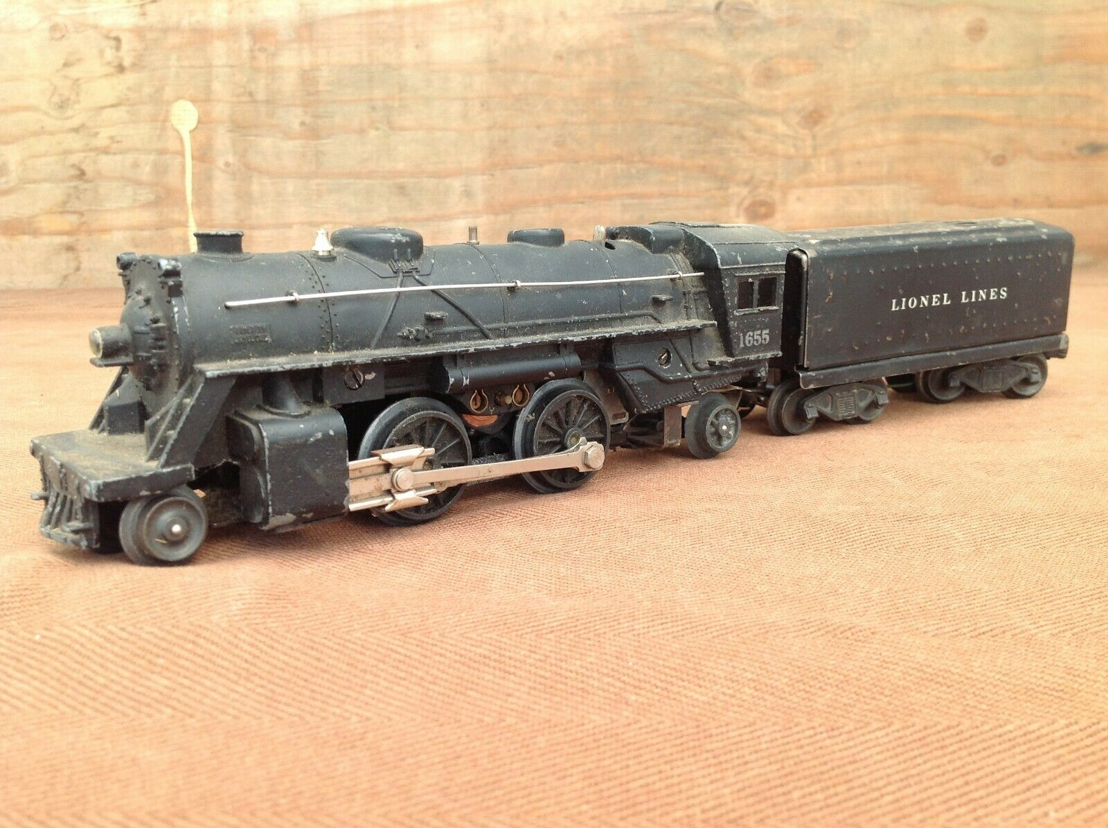 Lionel 2-4-2 Columbia Nº 1655 Locomotora con tender 6654W