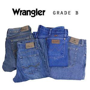 VINTAGE-WRANGLER-JEANS-STRAIGHT-LEG-DENIM-GRADE-B-W28-W30-W32-W34-W36-W38