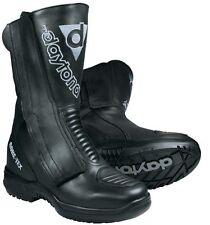 Motorcycle Touring Boots Daytona Lady Star GTX Leather Black Waterproof Size 39