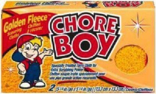 Golden Fleece Scrubbing Cloths Chore Boy 48 Pack