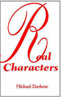 Real Characters by Michael Darkow (Paperback / softback, 2001)