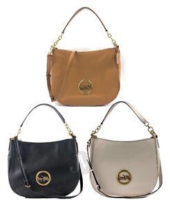 Coach-F31400-Pebbled-Leather-Elle-Hobo-Shoulder-Bag