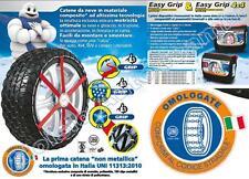 EASY GRIP MICHELIN J11 - CATENE DA NEVE OMOLOGATE IN ITALIA 175/80-14 185/65-15
