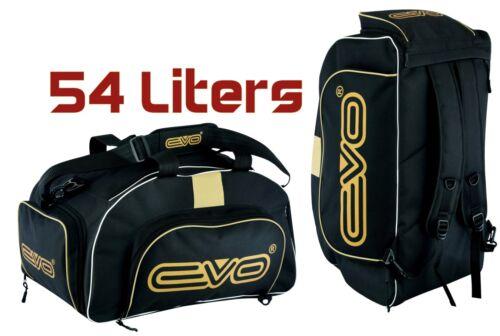 EVO Sports Kit Bag Backpack Holdall Duffle Travel Shoulder Gym Gear Fitness UFC