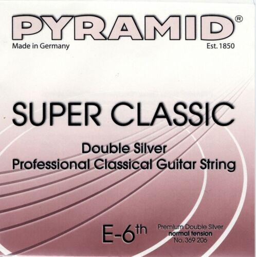 "Strings SET PYRAMID Super Classic ""Double Silver"" Konzert Gitarre Saiten SATZ"