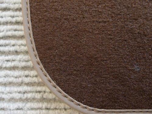 NEU BRAUN $$$ Lengenfelder Fußmatten passend für Porsche 911 Targa Cabrio