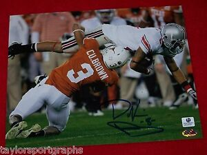 DEVIER-POSEY-OHIO-STATE-BUCKEYES-SIGNED-8X10-PHOTO-GLOBAL-AUTHENTIC-CERTIFIED