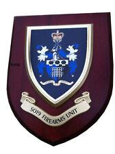SO19 Firearms Unit  Police Service Wall Plaque Shield
