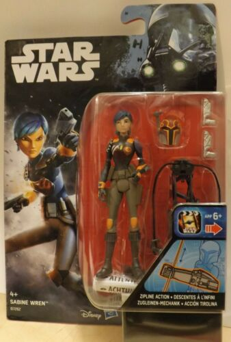 """Rebels Rogue 1 Armour Up Discounts HASBRO STAR WARS 3.75/"""" The Force Awakens"""