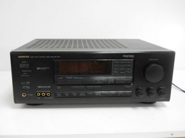 Onkyo Audio Video Control Tuner Amplifier Model TX-SV727