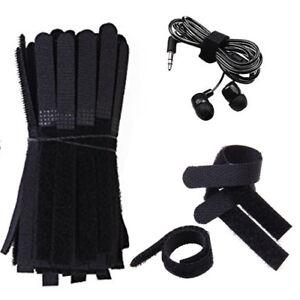 25 Cintas Con Organizadoras De Cables (velcro) 13cm X 1cm Reutizables Ze3yttbb-07163817-364017131